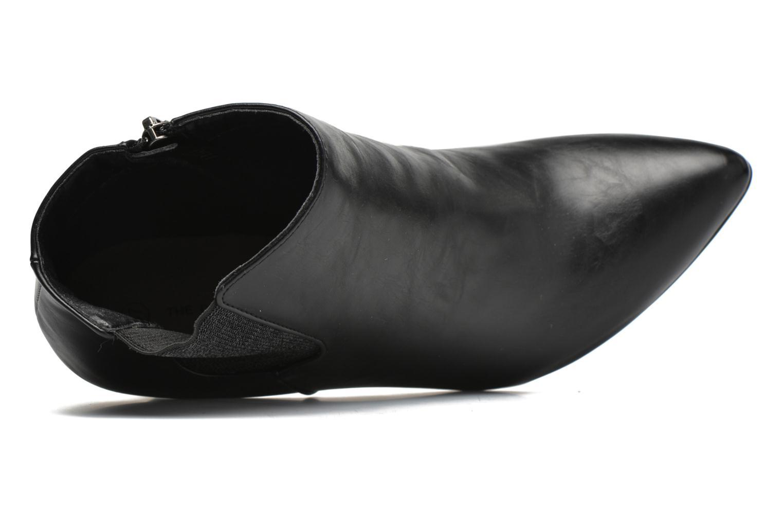 Bottines et boots Divine Factory Sandra Noir vue gauche