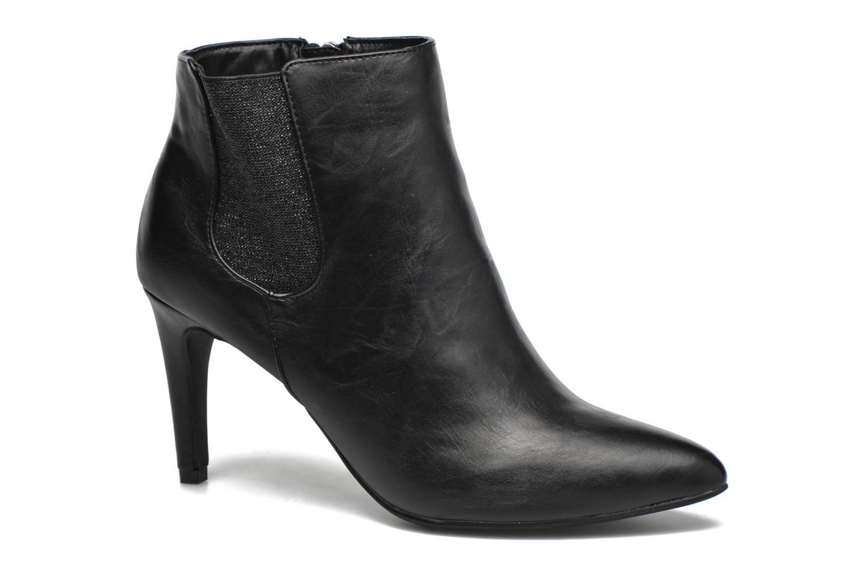 Boots en enkellaarsjes Divine Factory Sandra Zwart detail