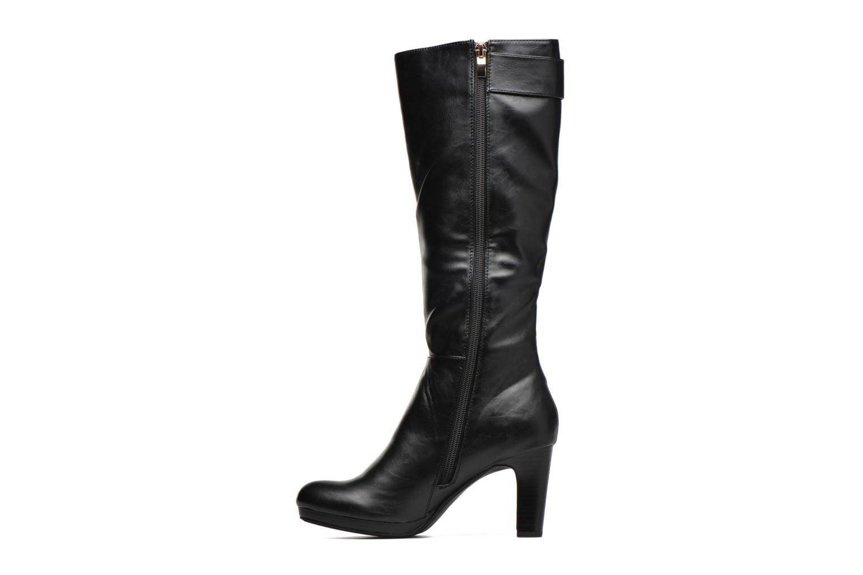 Boots & wellies Divine Factory DOUBLON Black front view