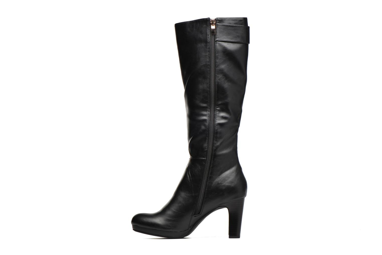Støvler & gummistøvler Divine Factory DOUBLON Sort se forfra