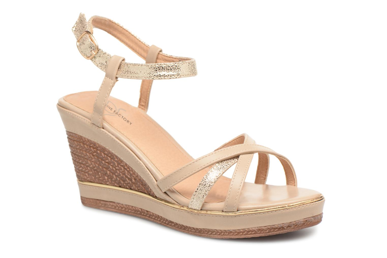 Grandes descuentos últimos zapatos Divine Factory DOUBLON (Beige) - Botas Descuento