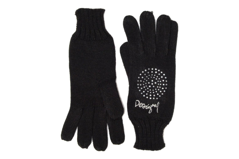 Divers Desigual Coffret foulard/gants Noir vue face