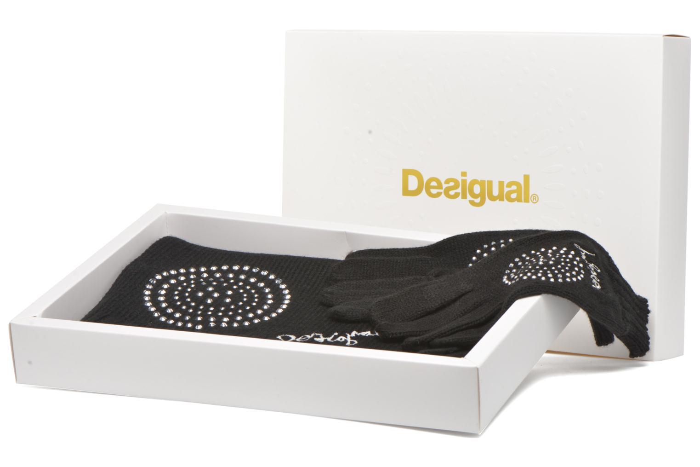Divers Desigual Coffret foulard/gants Noir vue détail/paire