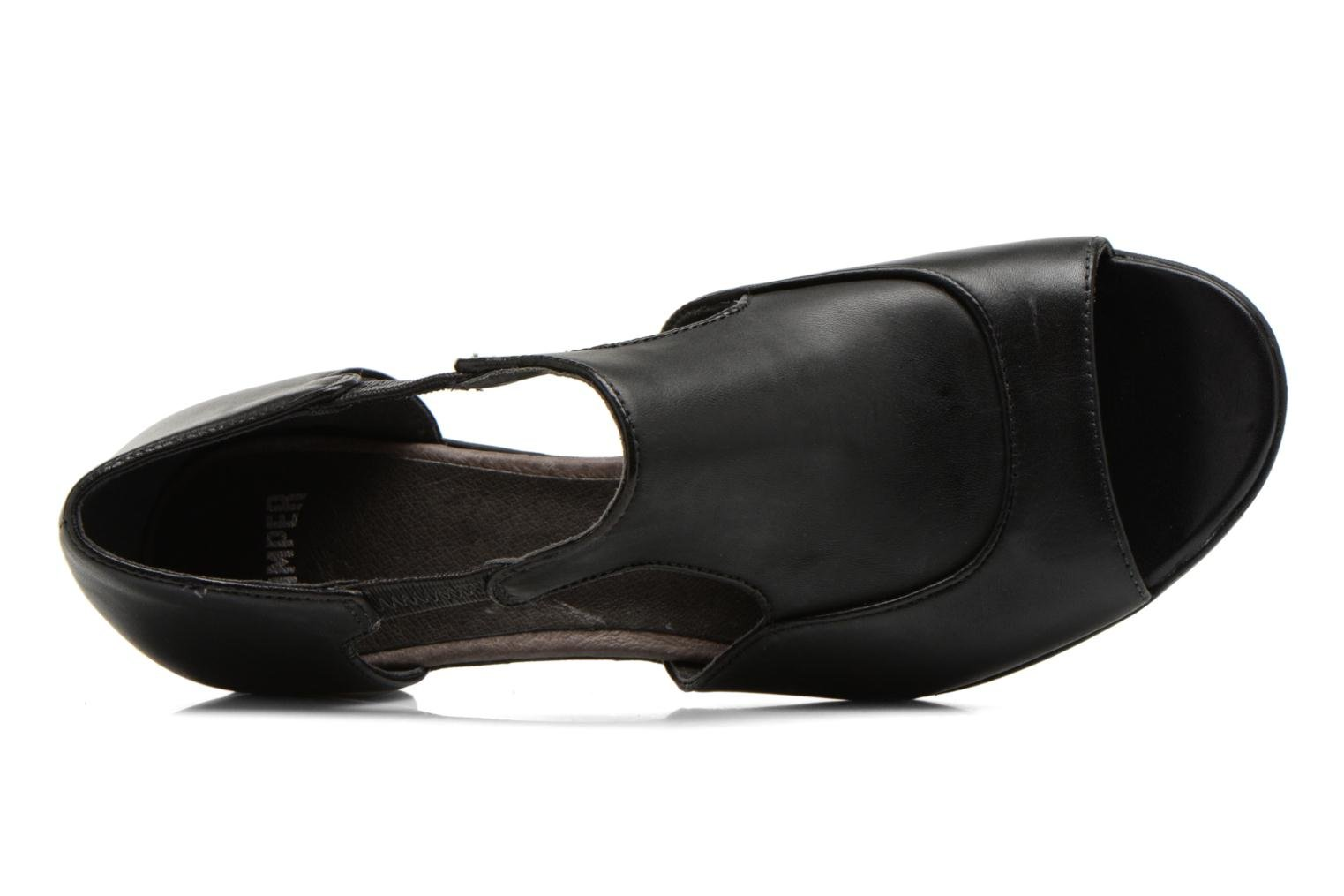 High heels Camper Beth 22105 Black view from the left