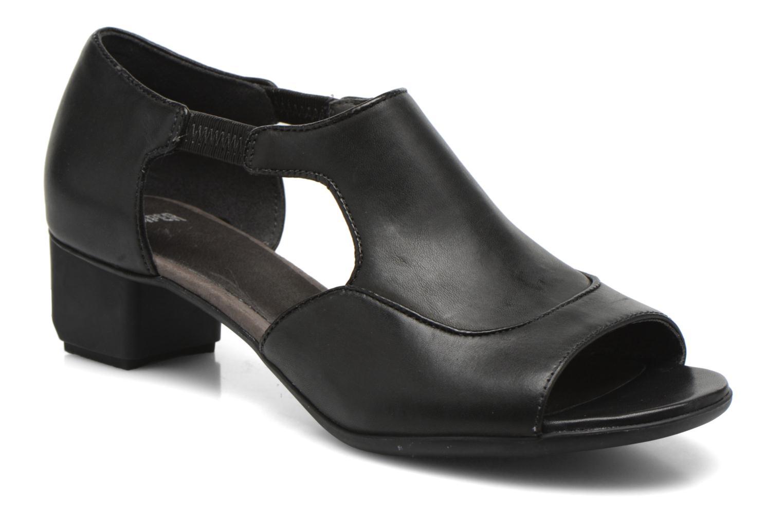 High heels Camper Beth 22105 Black detailed view/ Pair view