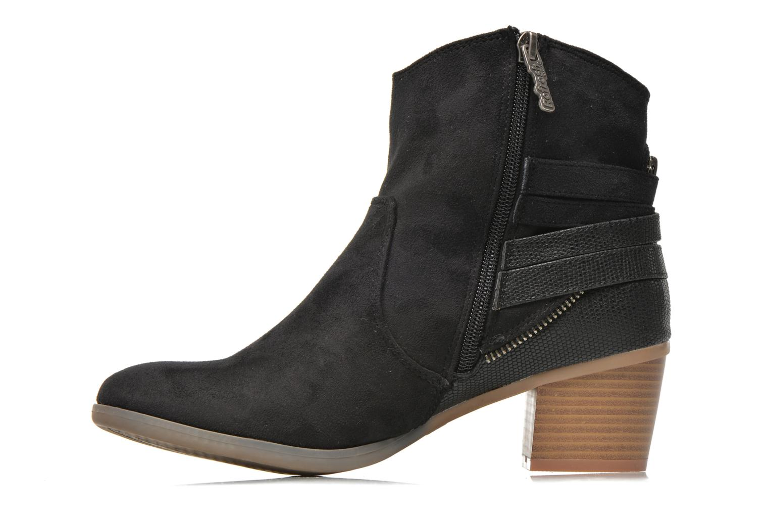 Bottines et boots Refresh Salamanca-61740 Noir vue face