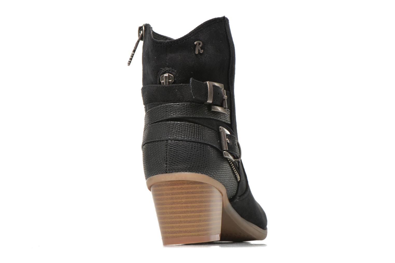 Stiefeletten & Boots Refresh Salamanca-61740 schwarz ansicht von rechts