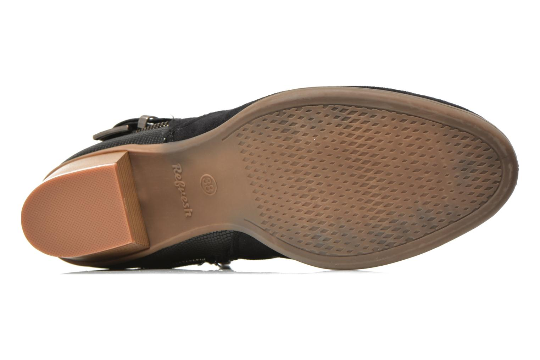 Stiefeletten & Boots Refresh Salamanca-61740 schwarz ansicht von oben