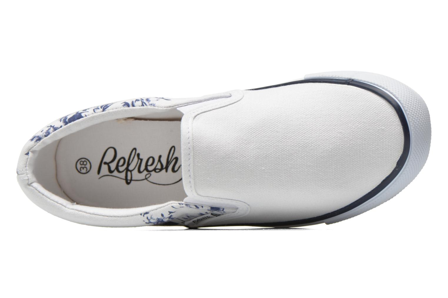 Trainers Refresh Zenia-61896 White view from the left