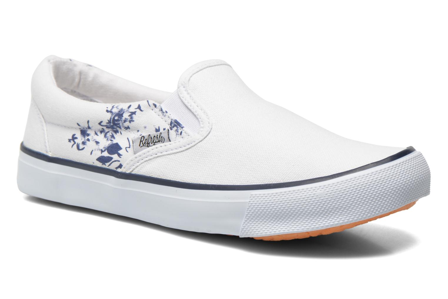 Trainers Refresh Zenia-61896 White detailed view/ Pair view