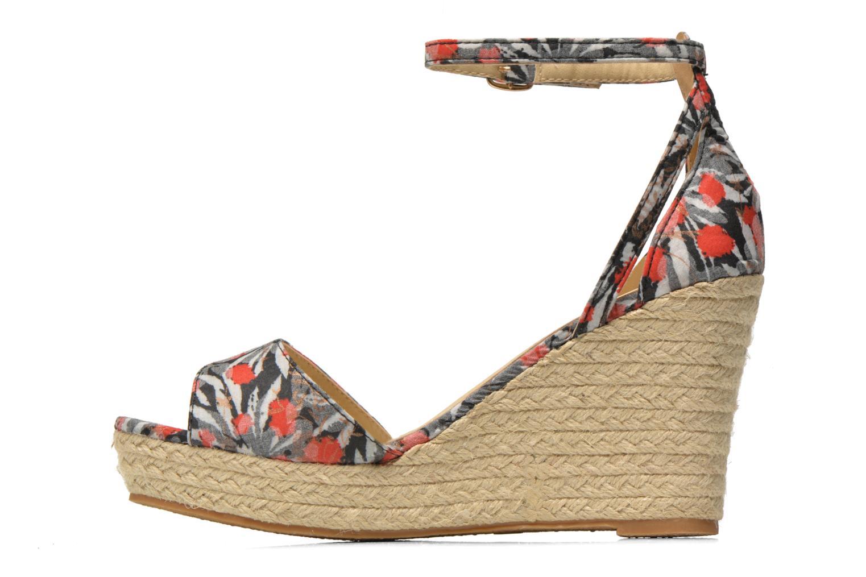 Sandales et nu-pieds Refresh Omnila-62010 Noir vue face