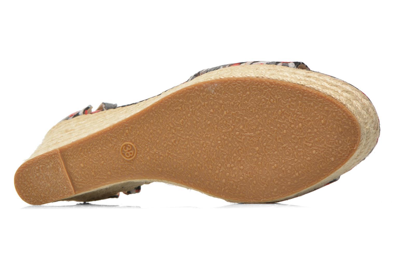 Sandales et nu-pieds Refresh Omnila-62010 Noir vue haut