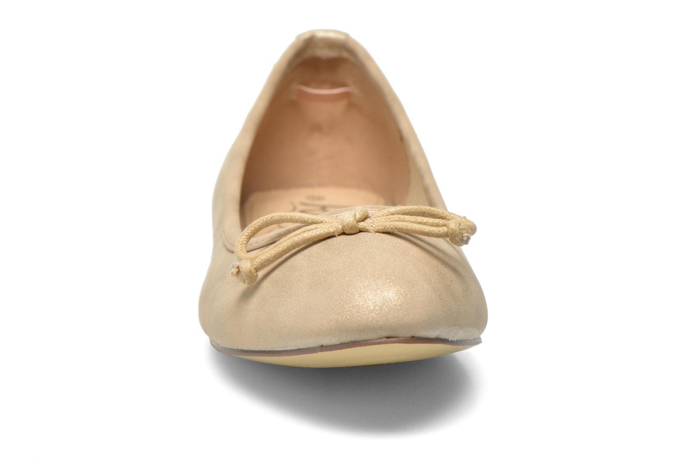 Ballet pumps Refresh Pirinia-62024 Bronze and Gold model view