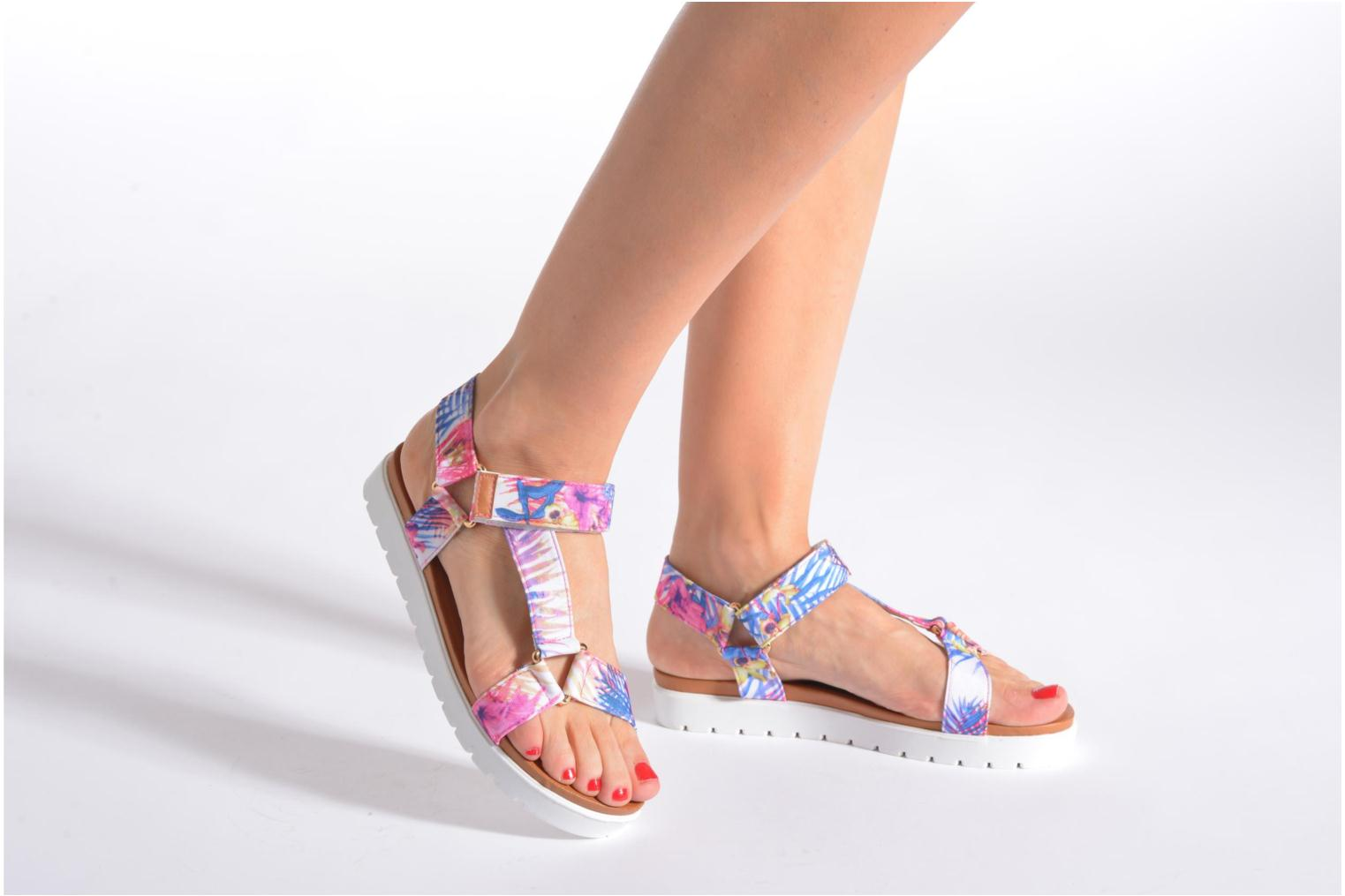 Sandals Refresh Berlinia-62029 Multicolor view from underneath / model view