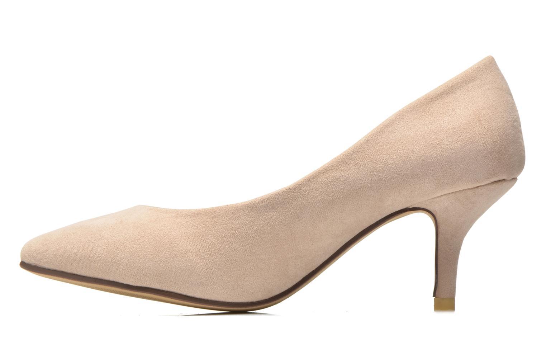 High heels Refresh Coquelina-62054 Beige front view