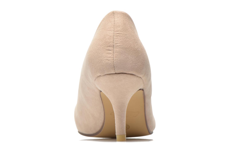 Zapatos de tacón Refresh Coquelina-62054 Beige vista lateral derecha