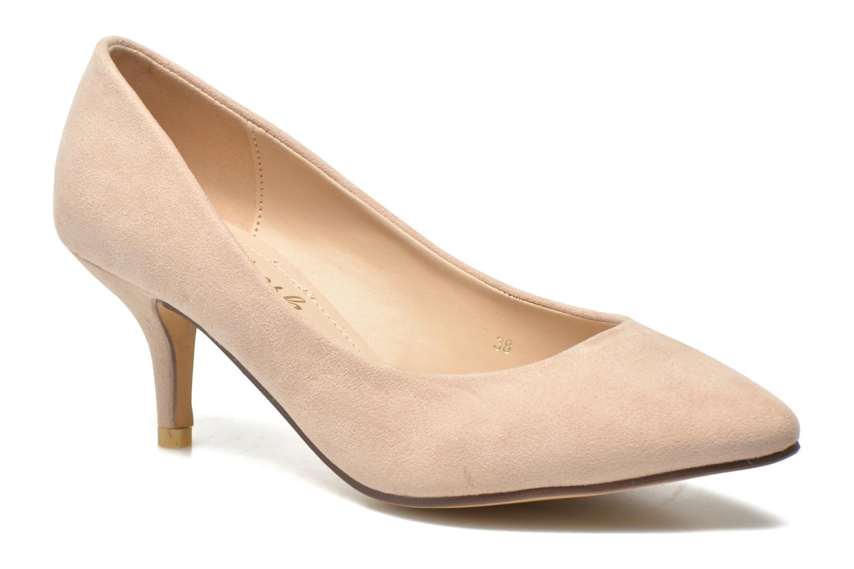 Zapatos de tacón Refresh Coquelina-62054 Beige vista de detalle / par
