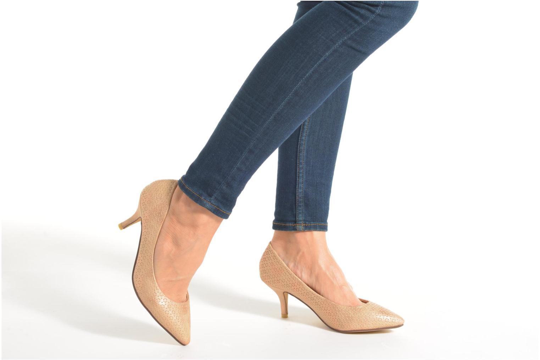 Zapatos de tacón Refresh Inidia-62055 Oro y bronce vista de abajo