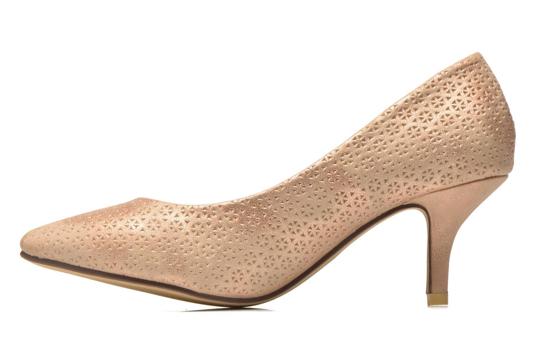 Zapatos de tacón Refresh Inidia-62055 Oro y bronce vista de frente