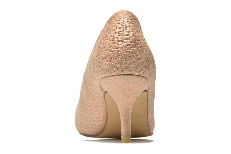 Zapatos de tacón Refresh Inidia-62055 Oro y bronce vista lateral derecha