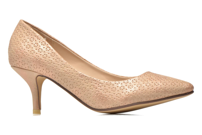 Zapatos de tacón Refresh Inidia-62055 Oro y bronce vistra trasera