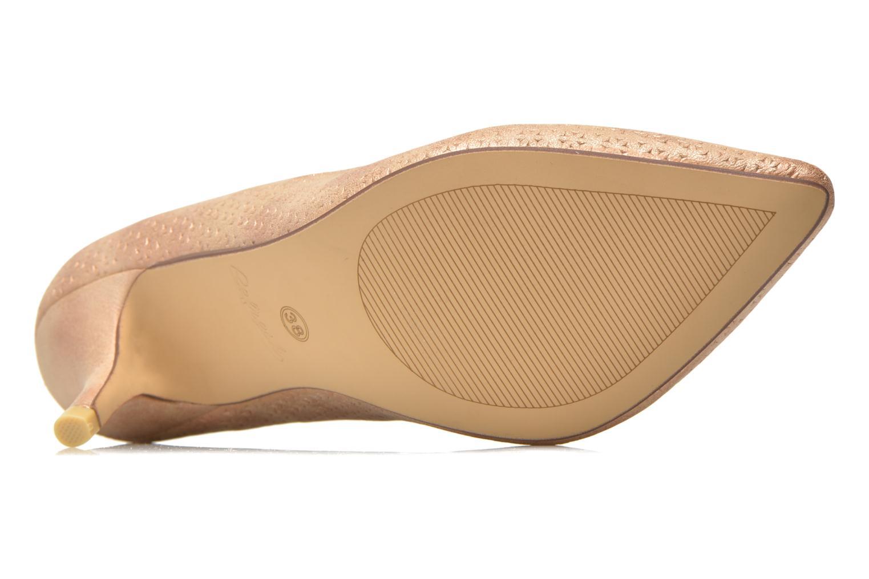 Zapatos de tacón Refresh Inidia-62055 Oro y bronce vista de arriba