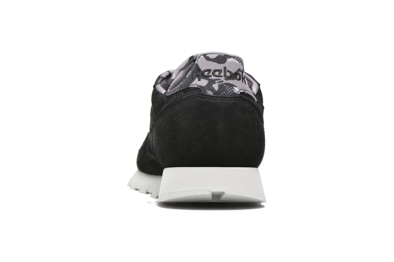 Baskets Reebok Cl Leather Tdc Noir vue droite