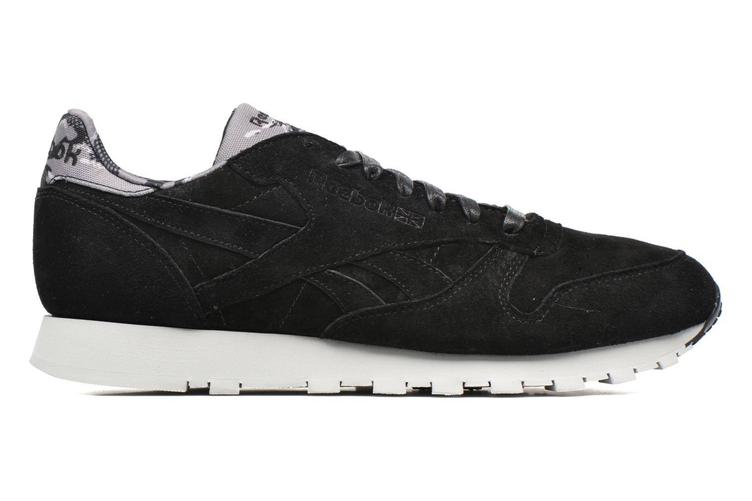 Trainers Reebok Cl Leather Tdc Black back view