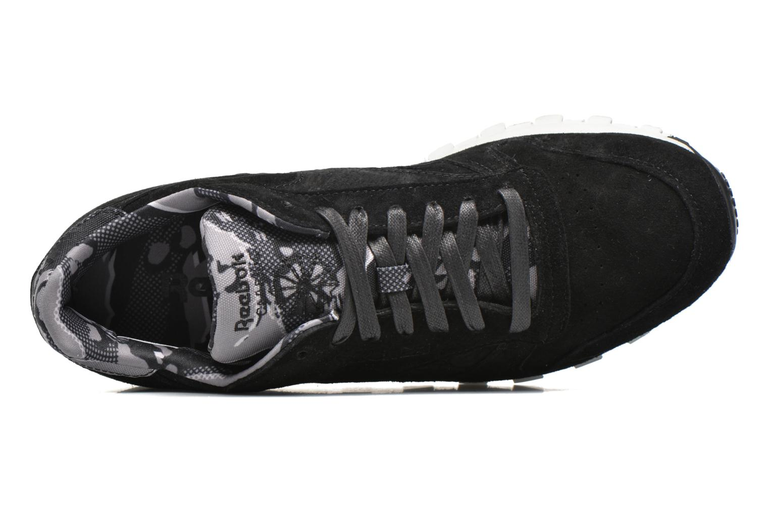 Trainers Reebok Cl Leather Tdc Black view from the left