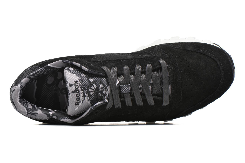 Sneaker Reebok Cl Leather Tdc schwarz ansicht von links