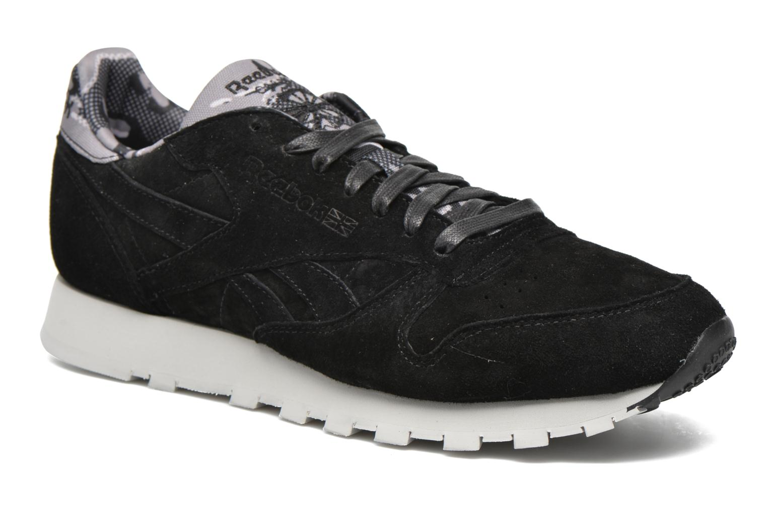 Trainers Reebok Cl Leather Tdc Black detailed view/ Pair view
