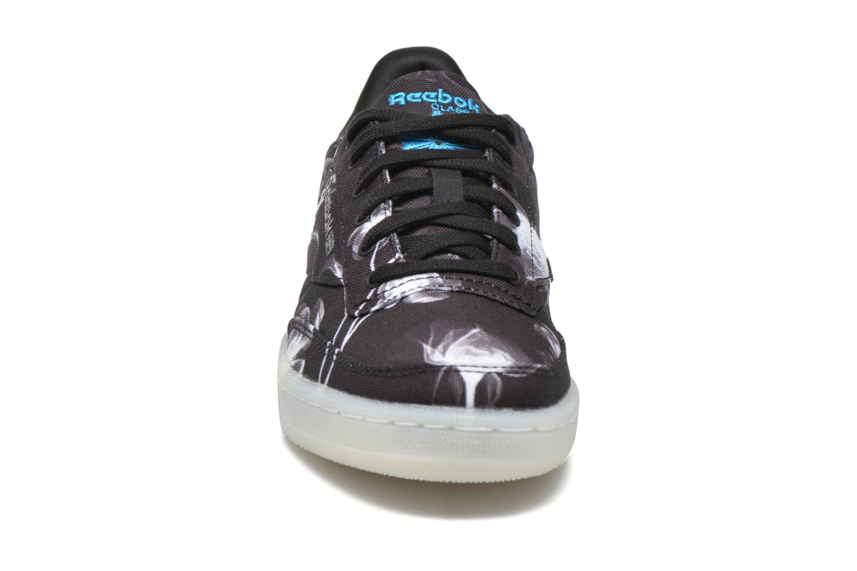 Baskets Reebok Club C 85 Xray Noir vue portées chaussures