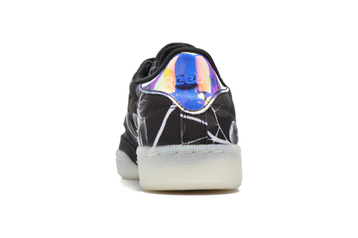 Trainers Reebok Club C 85 Xray Black view from the right