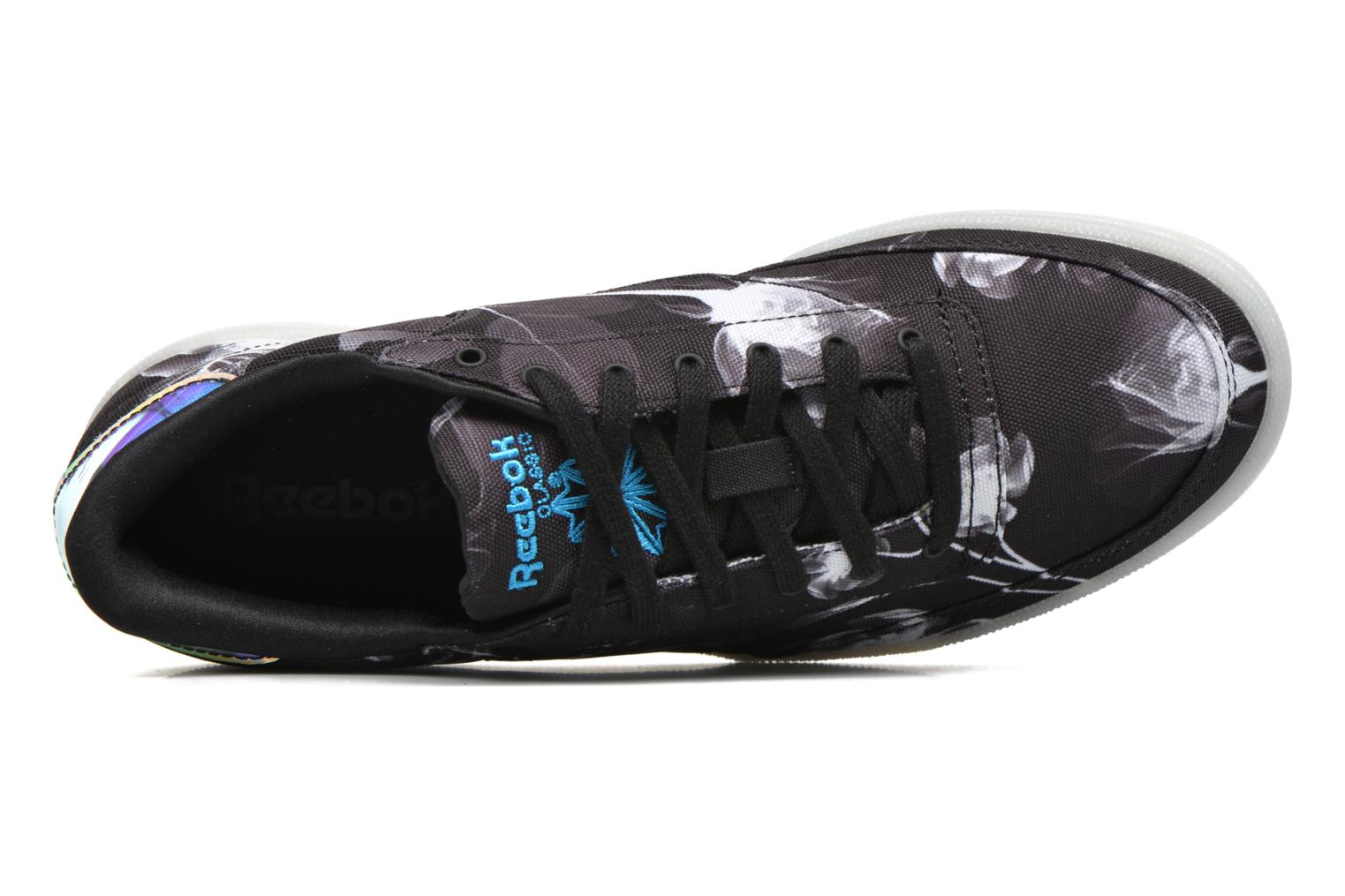 Trainers Reebok Club C 85 Xray Black view from the left