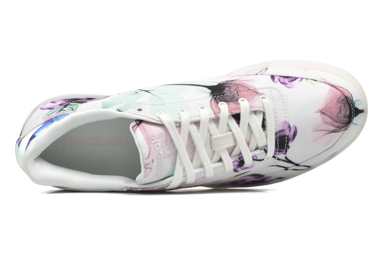 Sneaker Reebok Club C 85 Xray weiß ansicht von links