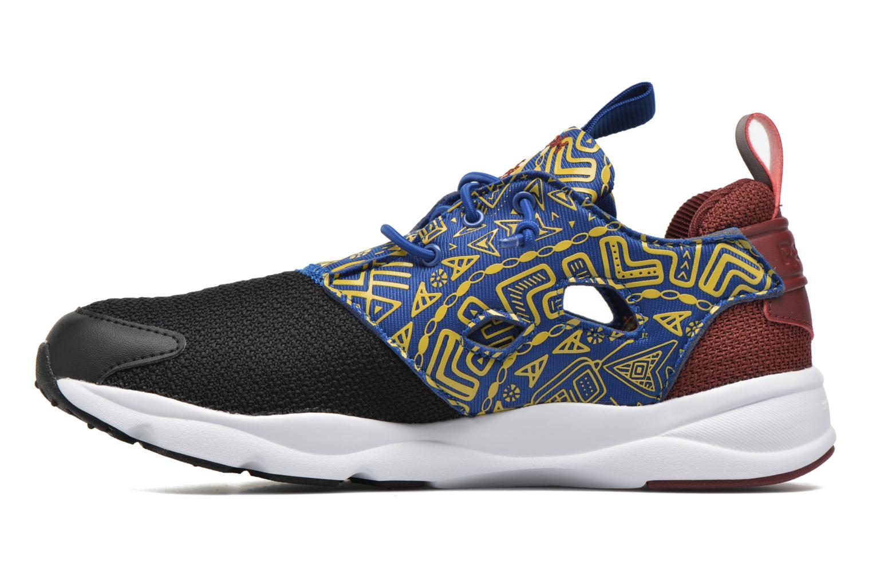 Sneaker Reebok Furylite Afr schwarz ansicht von vorne