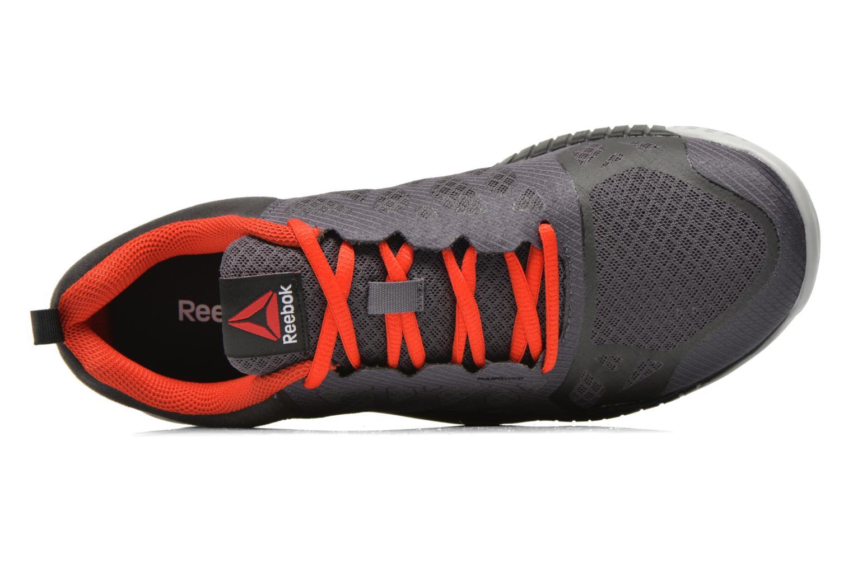 Zapatillas de deporte Reebok Reebok Zprint Train Gris vista lateral izquierda