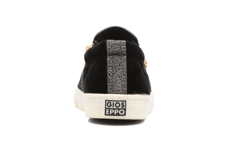 Sneaker Gioseppo Rolap schwarz ansicht von rechts