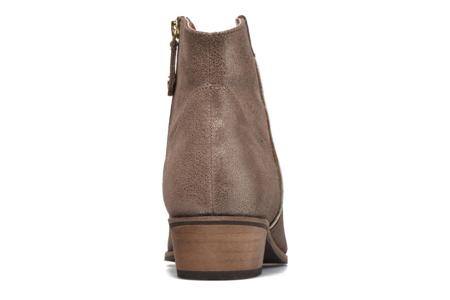 Bottines et boots Gioseppo Yell Or et bronze vue droite