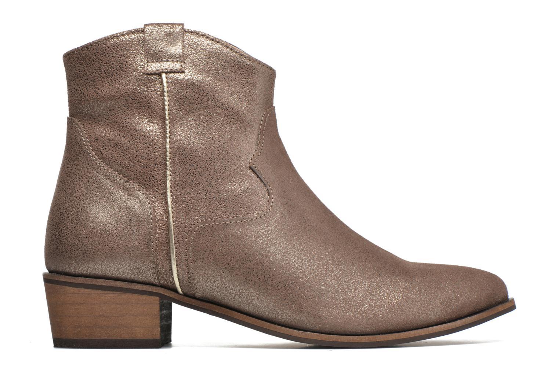 Bottines et boots Gioseppo Yell Or et bronze vue derrière