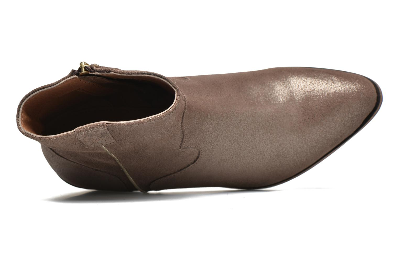 Bottines et boots Gioseppo Yell Or et bronze vue gauche