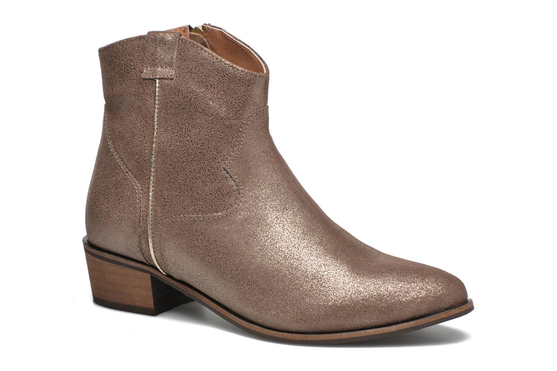 Bottines et boots Gioseppo Yell Or et bronze vue détail/paire