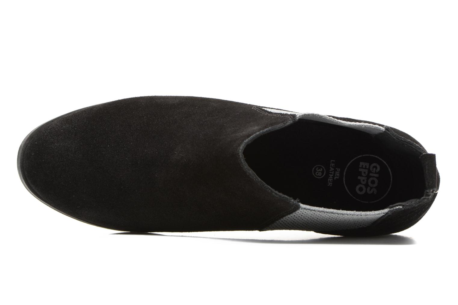 Ankle boots Gioseppo Kentucky Black view from the left