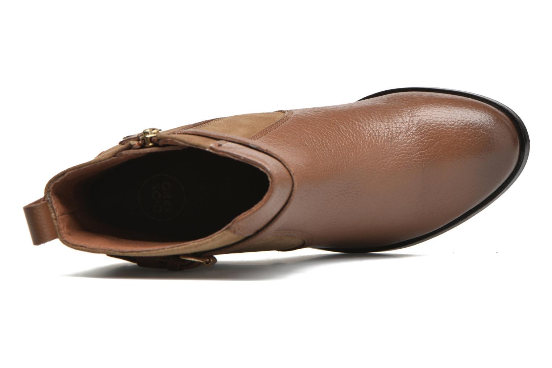 Stiefeletten & Boots Gioseppo Bogalusa braun ansicht von links