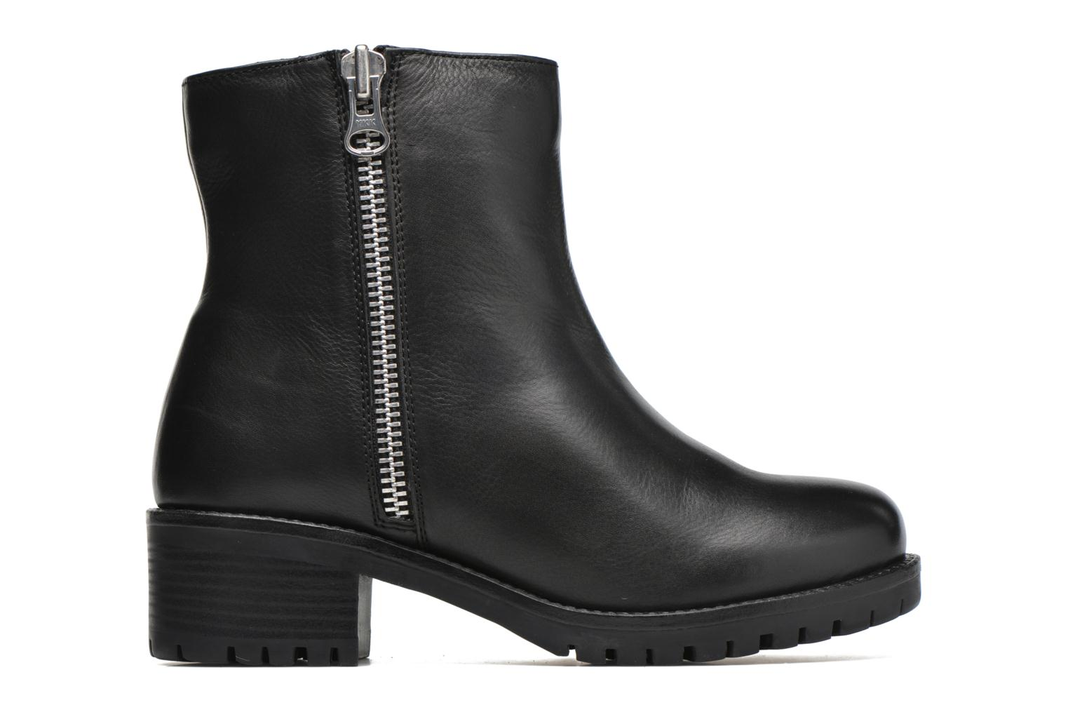 Ankle boots Gioseppo Begonia Black back view