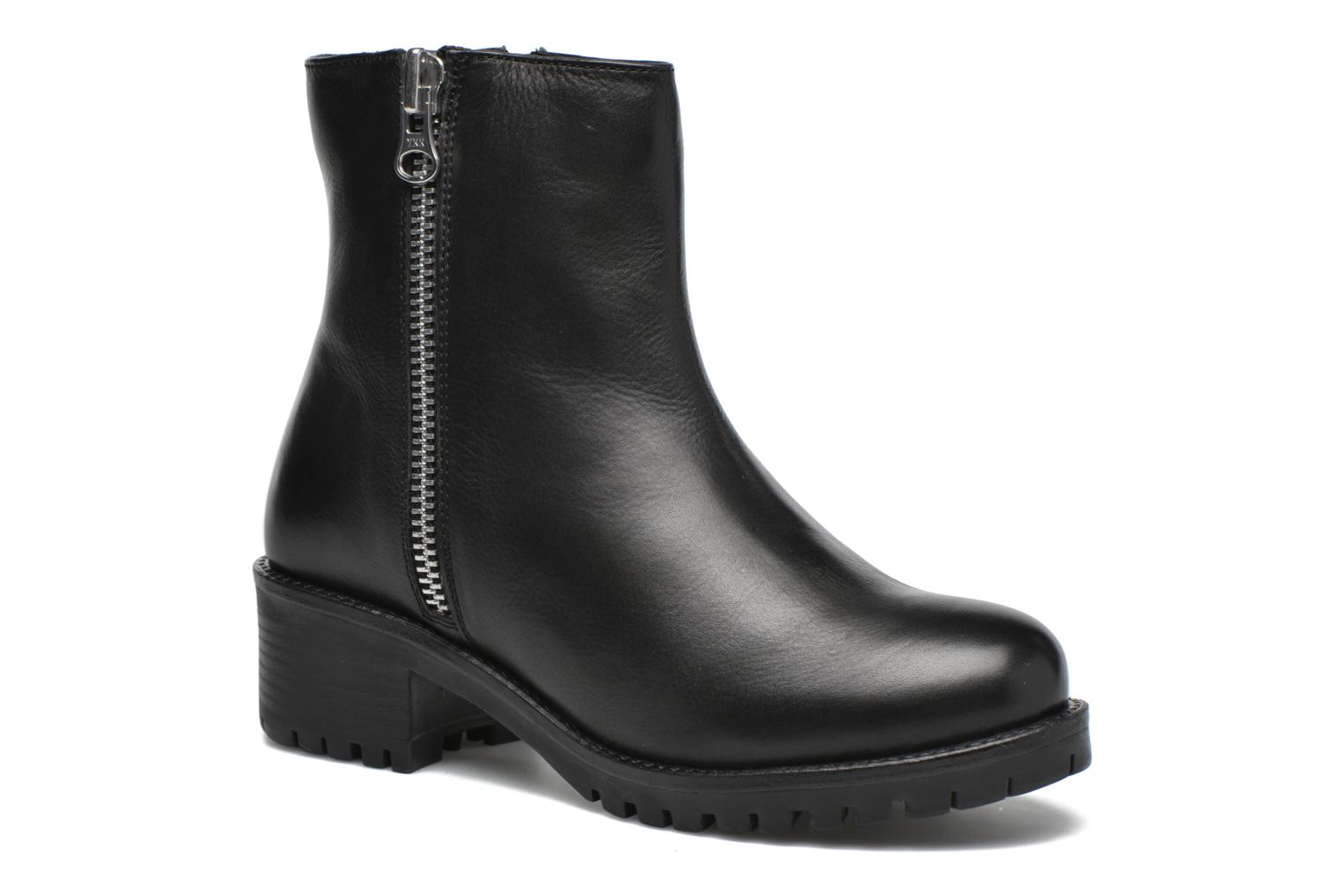 Ankle boots Gioseppo Begonia Black detailed view/ Pair view