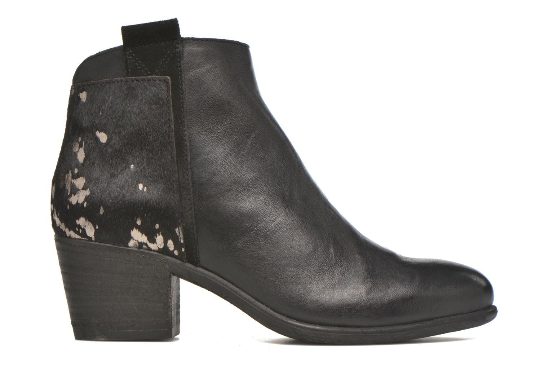 Boots en enkellaarsjes Khrio Julia Zwart achterkant