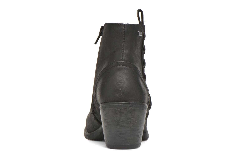 Bottines et boots MTNG Ellen Noir vue droite