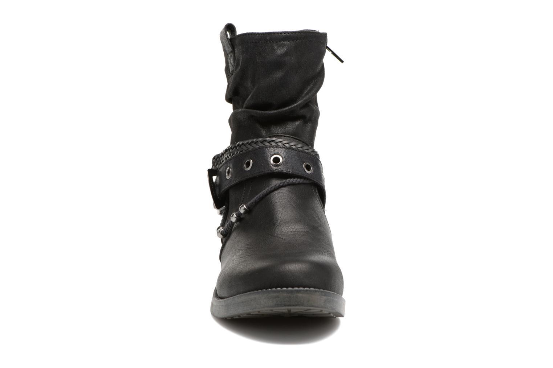 Bottines et boots MTNG Fausta Noir vue portées chaussures
