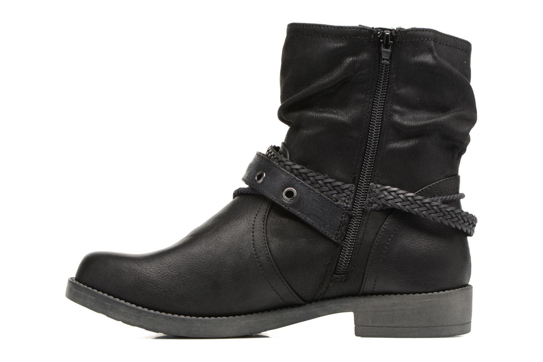 Bottines et boots MTNG Fausta Noir vue face